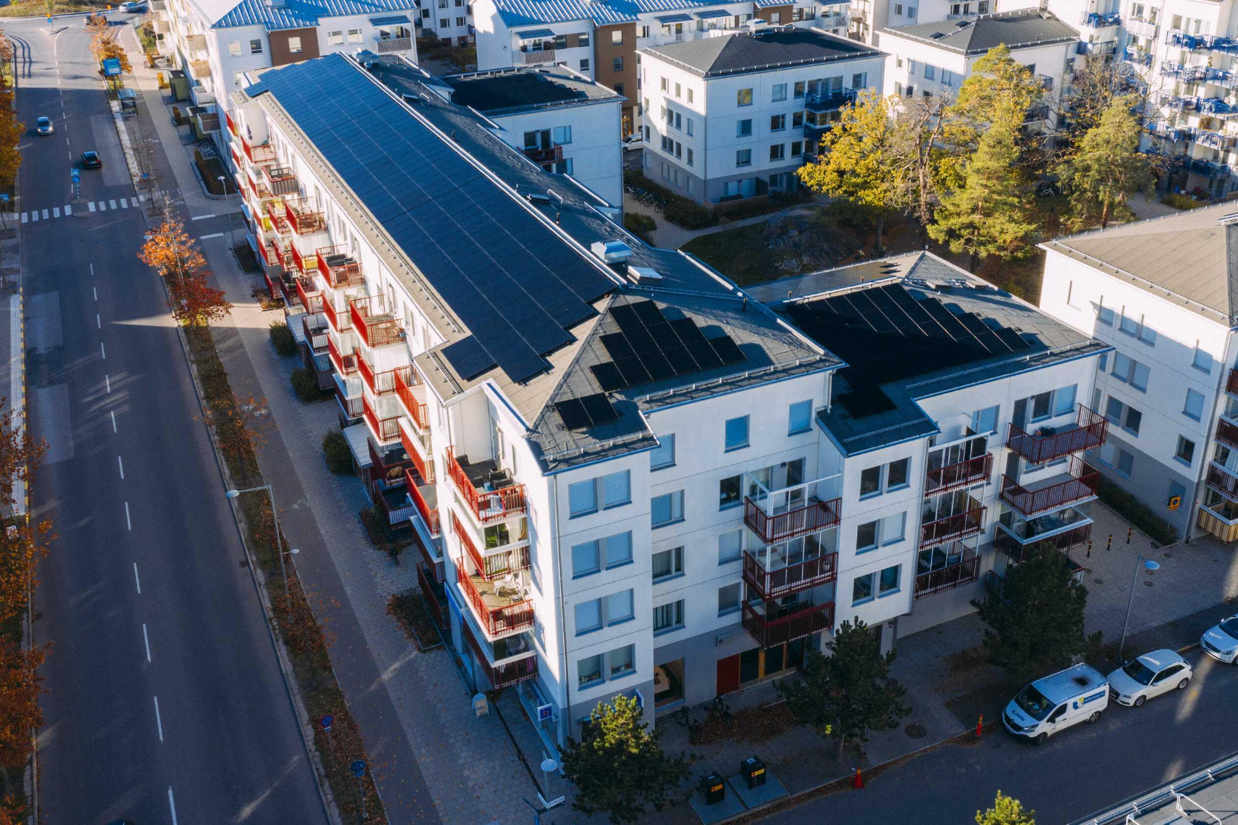 solceller för bostadsrättsförening