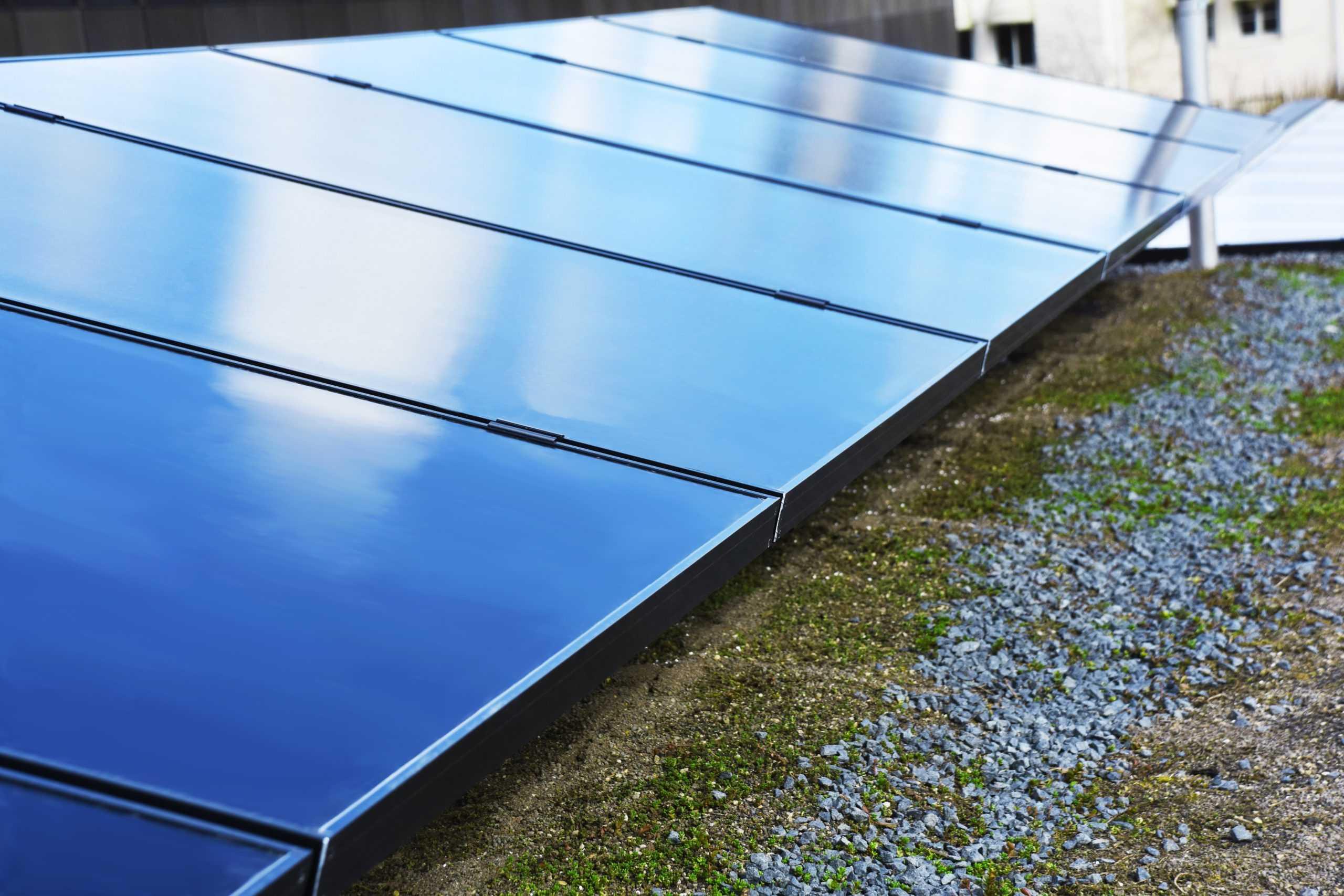 Solpaneler från SunPower