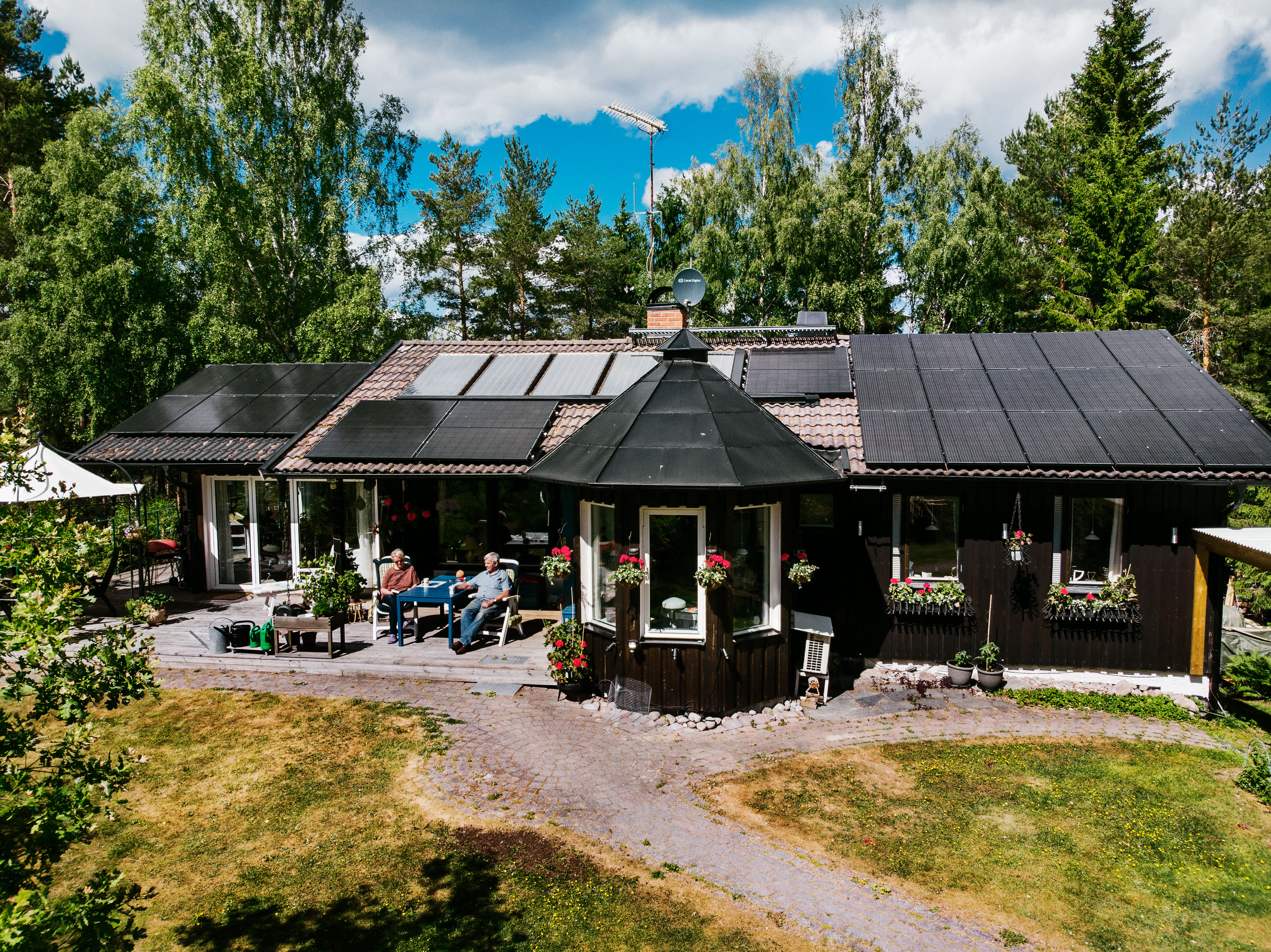 Solceller i Åkersberga