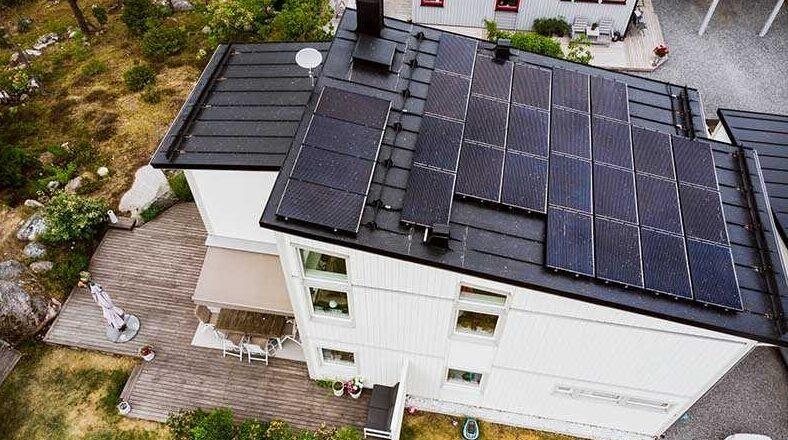 solceller ökar värdet på huset