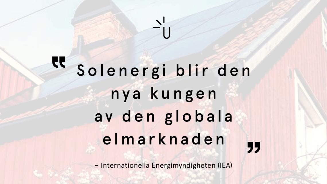 Solenergi global kung
