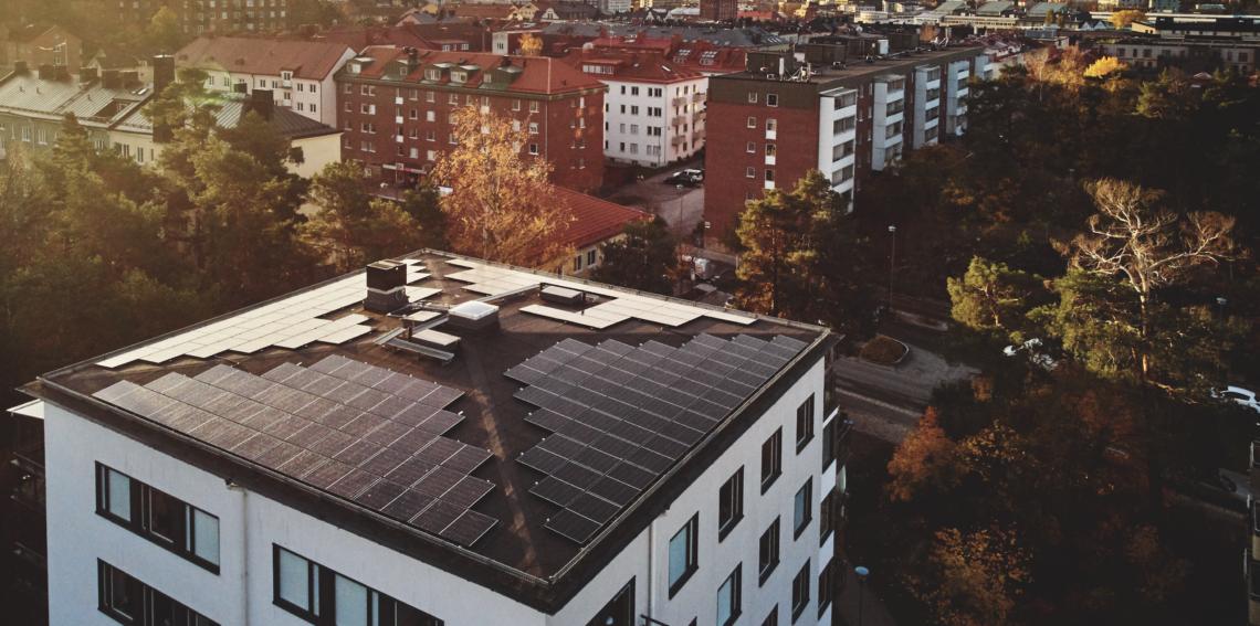Solceller brf Lötsjöhöjden Tulehöjden
